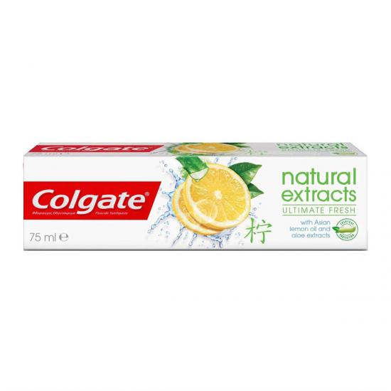 COLGATE NATURAL EXTRACTS ULTIMATE FRESH LİMON DİŞ MACUNU 75 ML
