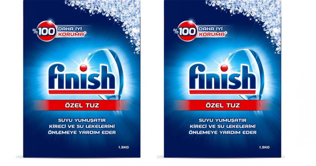 Finish Makine Tuzu 1500gr + 1500gr